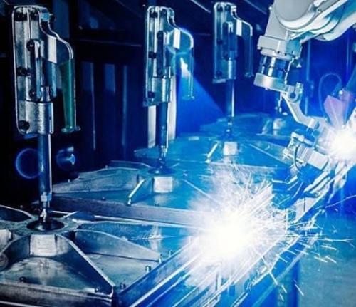 光伏组件自动化生产线机械手设备